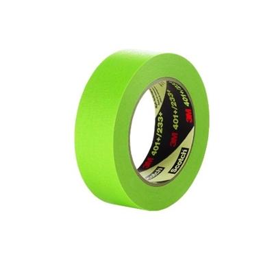 3M High Performance Green Masking Tape 401+ (1 Inch)